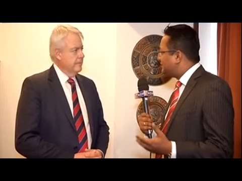 Welsh's Carwyn Jones in Mumbai Talks to ET NOW About Steel Management
