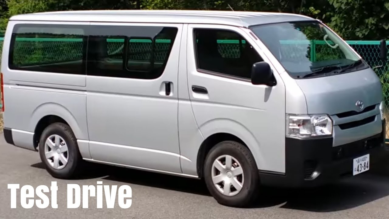 1 12 15 used car test drive 2014 toyota hiace van gl h200 1tr fe 2 0 youtube