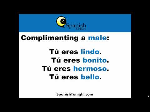 How do you say it looks beautiful in spanish