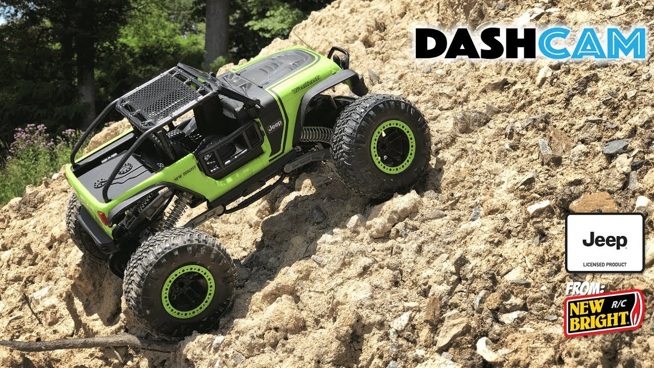 Rock Crawler Dashboard : New bright radio control jeep trailcat dashcam youtube