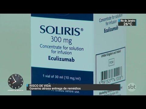 Governo atrasa entrega de remédios e pacientes correm risco de vida | SBT Brasil (12/10/17)
