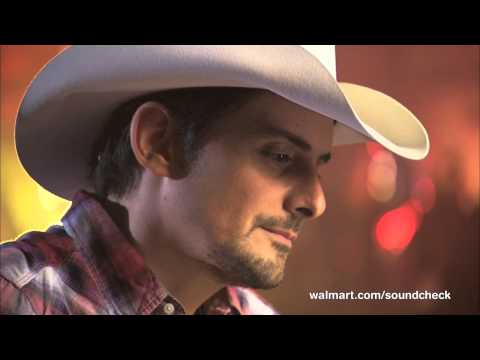 Brad Paisley at Walmart Soundcheck: The Best Fan Compliment
