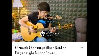 Download Lagu ARMADA-HARUSNYA AKU BY NATHAN FINGERSTYLE cover by areta mp3