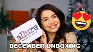 december 2019 Allure Beauty Box - Unboxing