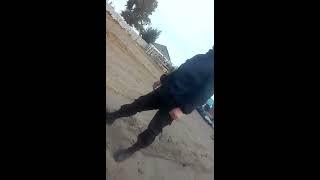 Инцидент в селе Кызылкак Иртышского района Павлодарской области. Съемка очевидца