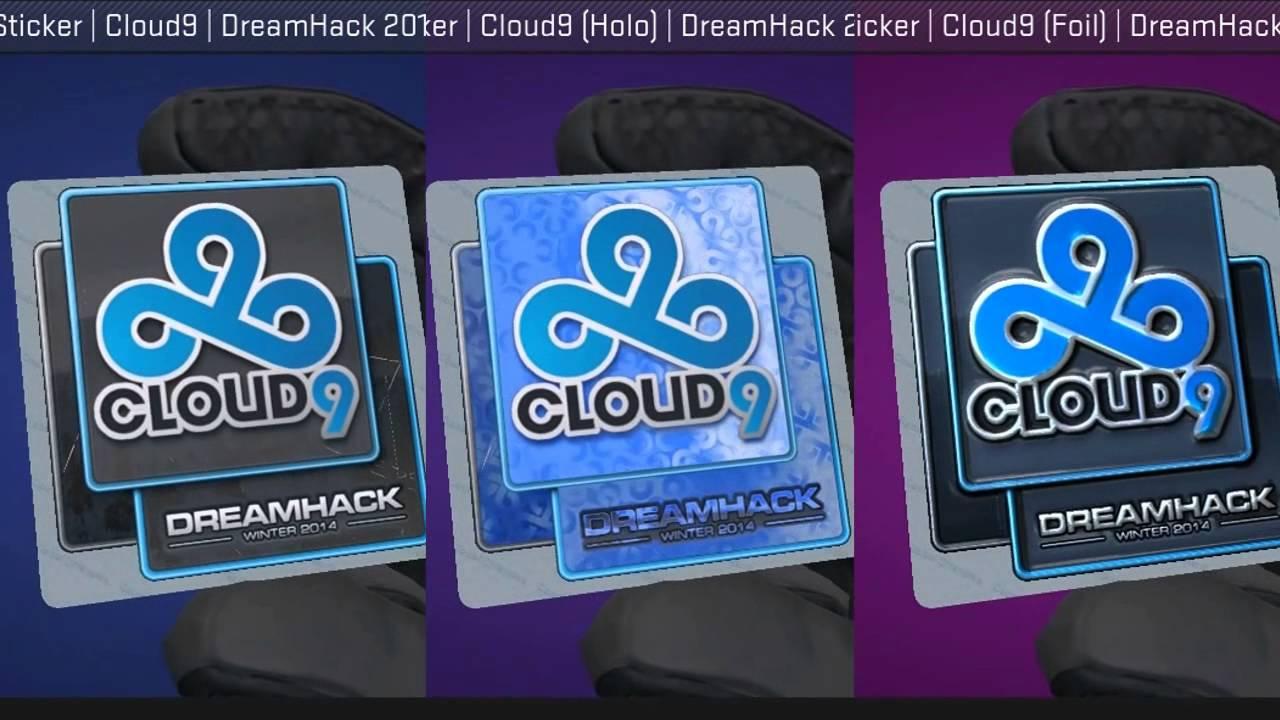 Cloud20 Stickers DreamHack 20
