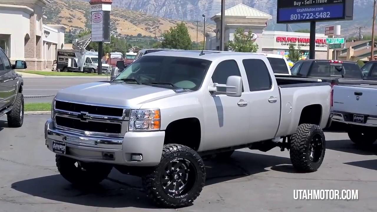 Silverado 2008 chevy silverado 2500 : 2008 Chevrolet Silverado 2500HD LTZ Lifted Duramax Diesel - Utah ...