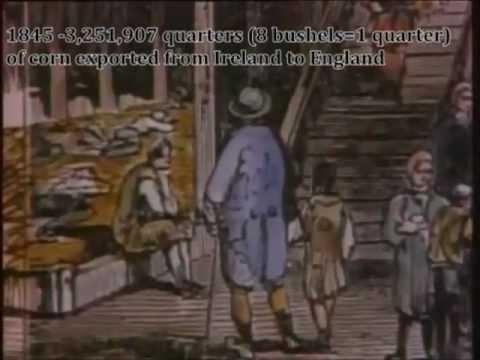 The Great Irish Potato Famine with Images and Irish Music