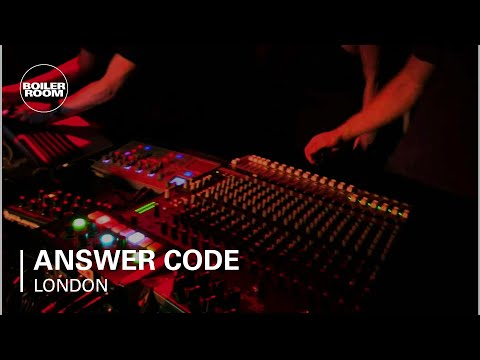 Answer Code Request Boiler Room London Live Set