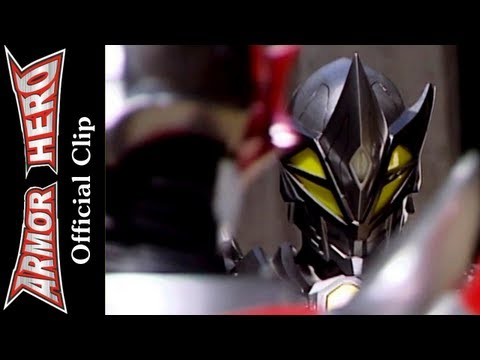 Conflicts between Dragon Man and Rhino Man  - Armor Hero Official English Clip  [HD 公式] - 51