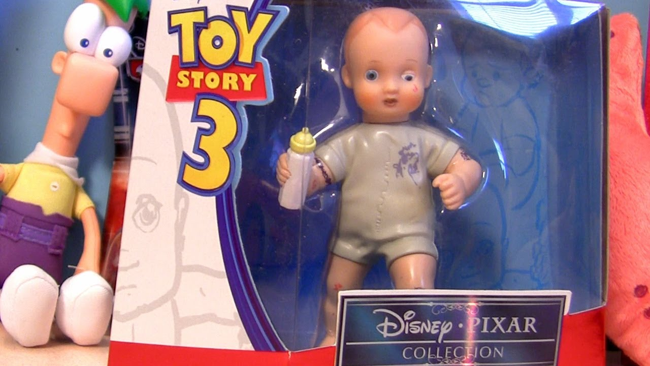 a plot summary of the story of baby doll Toy story is pixar's first full feature film where his sister frightens him with her new doll sally a mechanical drummer who tries to find his way in a baby's play room the original plot called for tinny to butt heads with a ventriloquist's dummy.