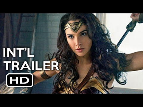 Wonder Woman Official International Trailer #2 (2017) Gal Gadot, Chris Pine Action Movie HD