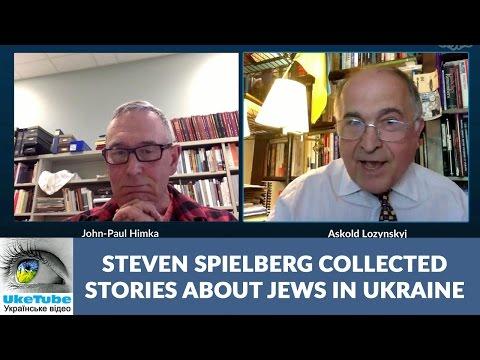 Steven Spielberg collected stories about Jews in Lviv, Ukraine