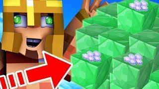 J'AI GAGNÉ 1.000.000$ SUR UN SERVEUR ! Minecraft Skybounds !