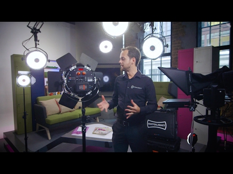Rotolight Anova PRO : Key Features Demonstration (Part 1)