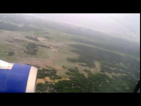 Indigo Landing at Agartala Airport
