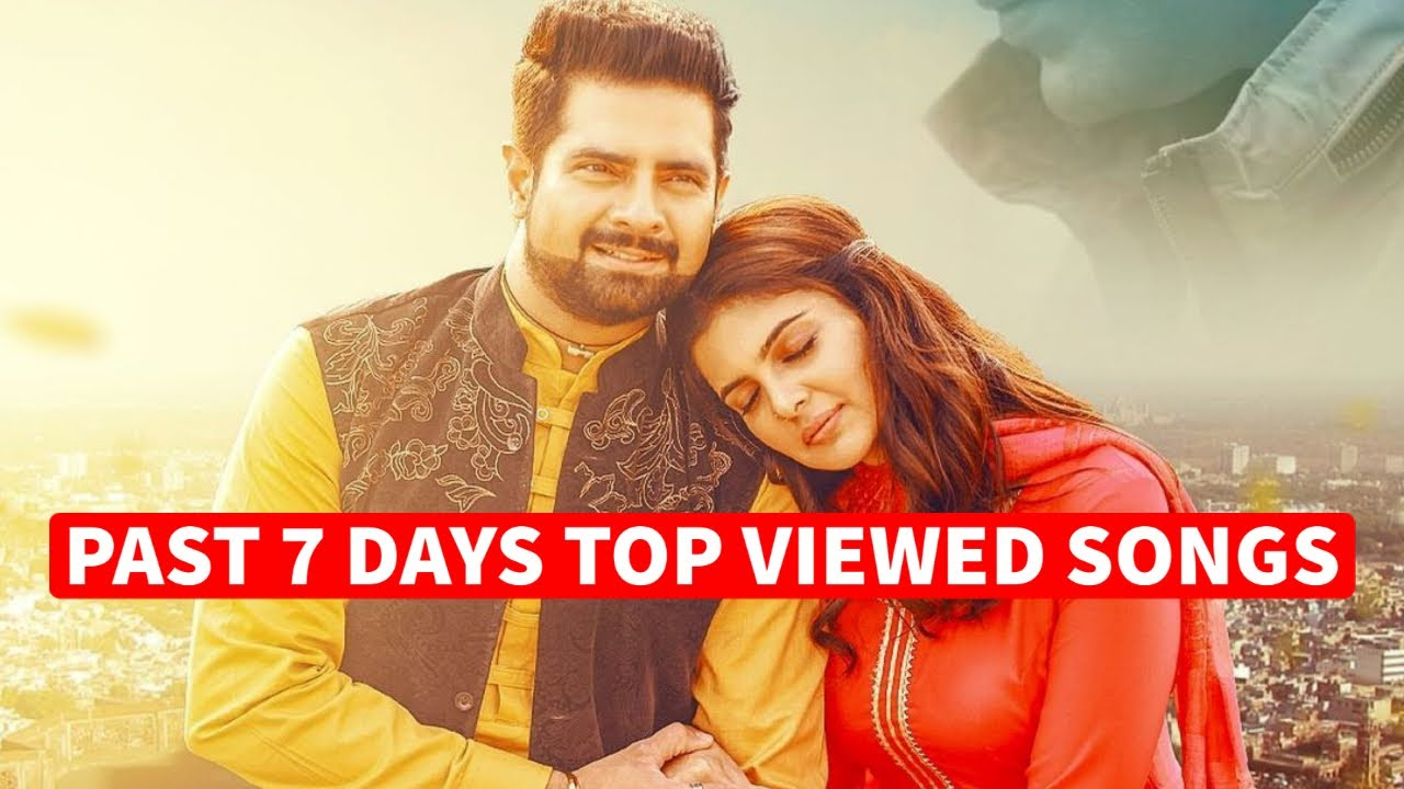 Past 7 Days Most Viewed Indian Songs on Youtube [23  November 2020]