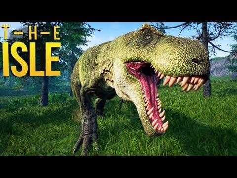 The Isle - O Famoso Tarbosaurus, Procurando Comida! | Dinossauros (#179) (PT-BR)