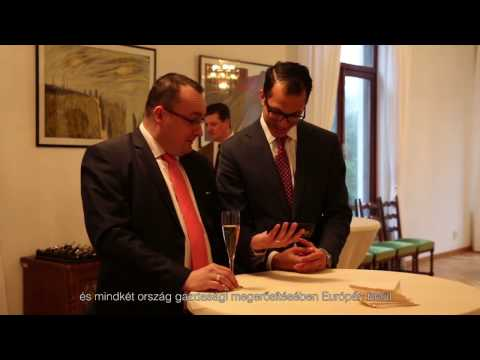 'Meet Hungary' Business Reception held at Embassy of Hungary
