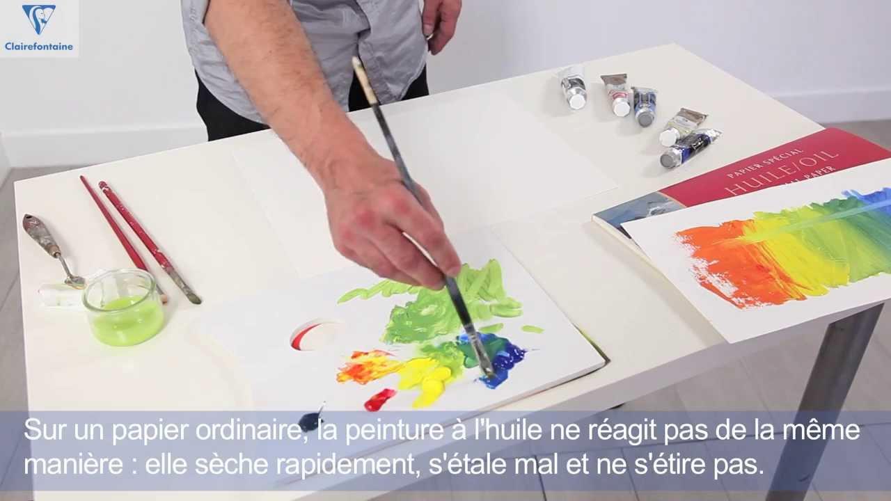 Beaux-Arts :: La Palette et le Papier à Huile