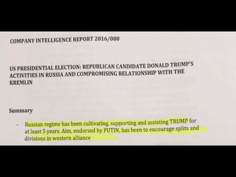 Democrats Funded Steele Dossier that Fueled Russiagate