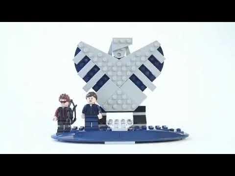 LEGO Star Wars 76042 The SHIELD Helicarrier LEPIN 07043 REVIEW
