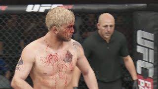 EA UFC Demo Gameplay Jon Jones vs Alexander Gustafsson (Xbox One)