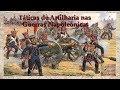 Táticas - Táticas de Artilharia nas Guerras Napoleônicas (Legendas Ing. e Esp.)