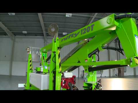 Nifty 120T Mobile Hydraulic Platform - Nifty And Kennards Hire