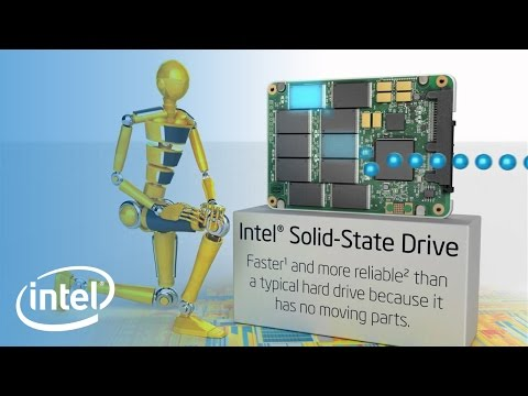 SSD vs. HDD with Intel SSDs   Intel