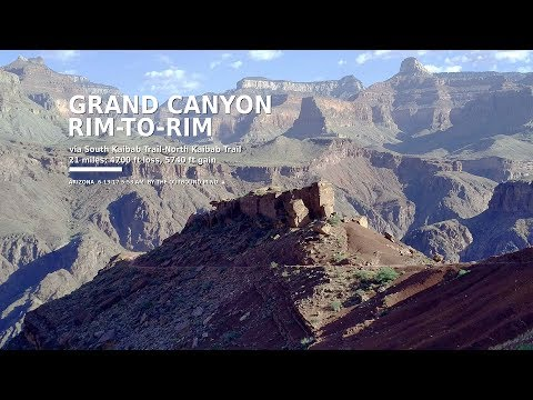 Full-Length Hike: Grand Canyon Rim-to-Rim (Arizona), by The Outbound Mind