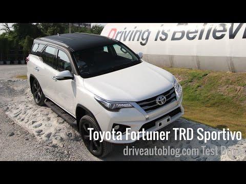[Test Drive] Toyota Fortuner TRD Sportivo 2016 : หนึบไม่ลืมนุ่ม สปอร์ตไม่ทิ้งหรู ดิสก์เบรกสี่ล้อ