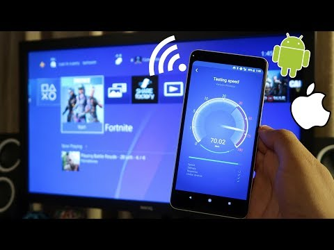 How to CONNECT your PHONES HOTSPOT to PS4! (Phone WiFi to PS4) (EASY METHOD) 2018