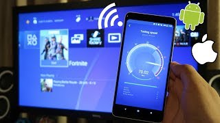 How to CONNECT your PHONES HOTSPOT to PS4! (Phone WiFi to PS4) (EASY METHOD)