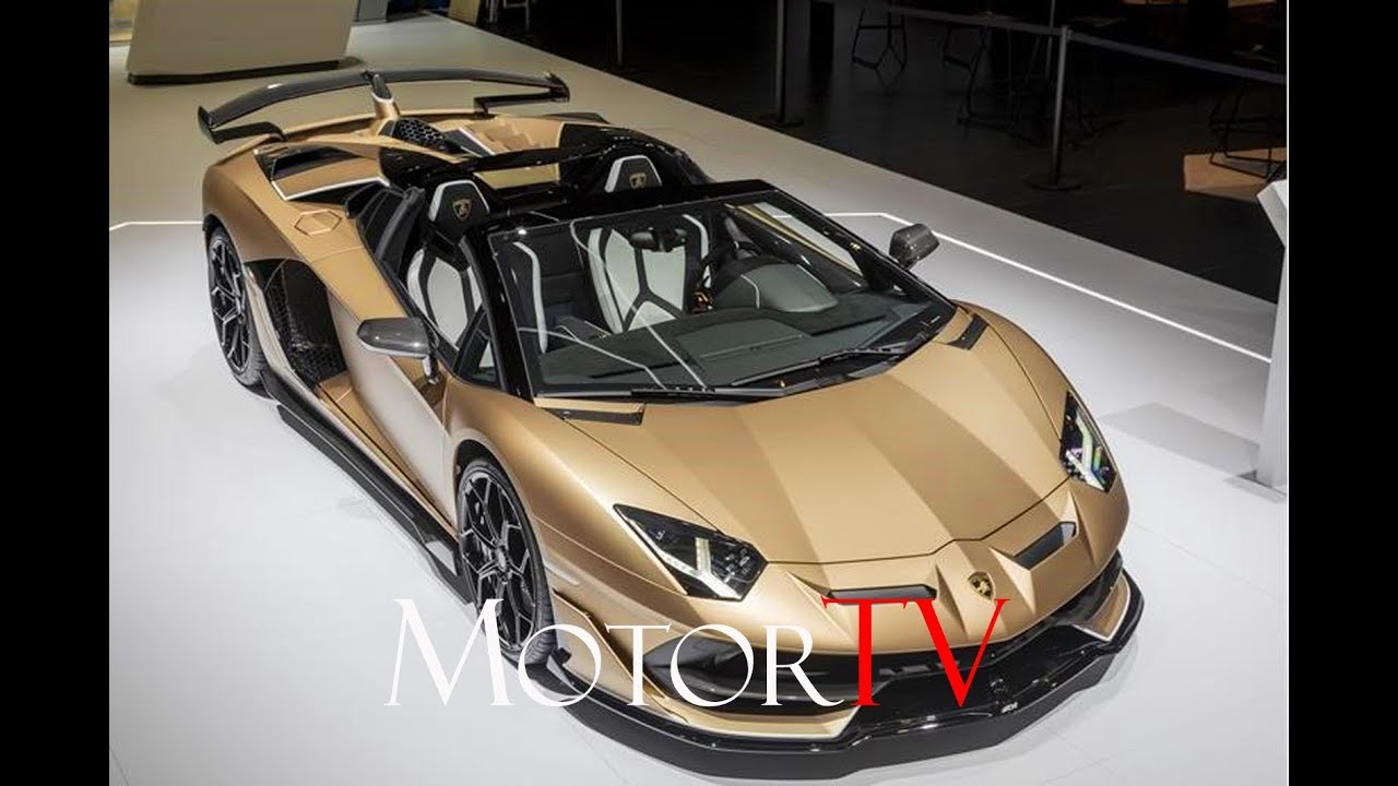 Geneva 2019 2020 Lamborghini Aventador Svj Roadster Design Interview