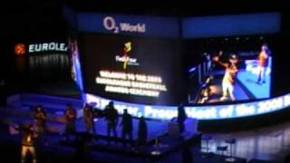 Naturally7 @ Euroleague Basketball 2009 Awards Ceremony