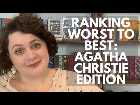 Worst to Best – Ranking All 63 Agatha Christie Books That I've Read