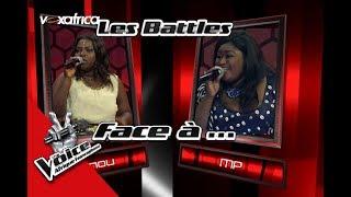 MP VS Manou « Comme dab » de VITAA  Les Battles   The Voice Afrique Francophone 2017