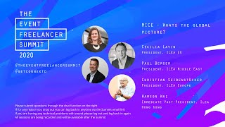 MICE - Whats the Global picture   The Event Freelancer Summit 2020