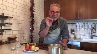 Un sorbet qui sort de l'ordinaire: poires, sauvignon et vanille - Les astuces des François (54)