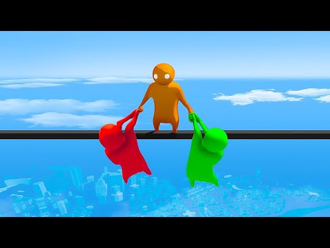BEST INDIE GAME to PLAY WITH FRIENDS 2018 - Gang Beasts Funny Moments & Gaming Fails
