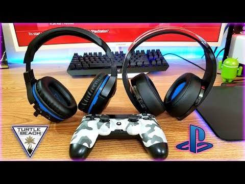 The Ultimate PS4 Headset: Turtle Beach Stealth 700 Vs PlayStation Platinum Headset