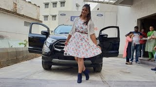 Taking Delivery of Ford Ecosport Documentation,Celebration and Delivery Exterior and Interior
