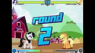 3d Game | MLP Fighting is Magic Rarity | MLP Fighting is Magic Rarity