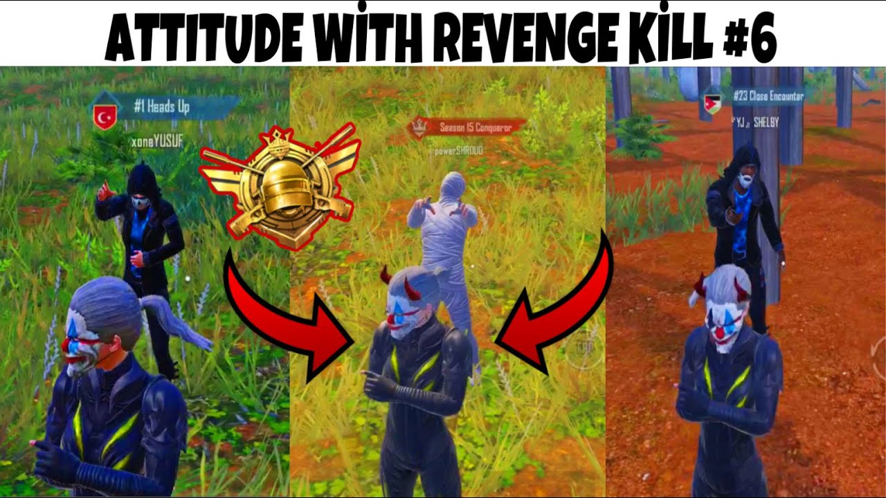 Download JAGUAR PUBG MOBILE Attitude With Revenge Kill ( NEW VİDEO ) PART 6 (😈 WITH GANGADANA MUSIC ONLY