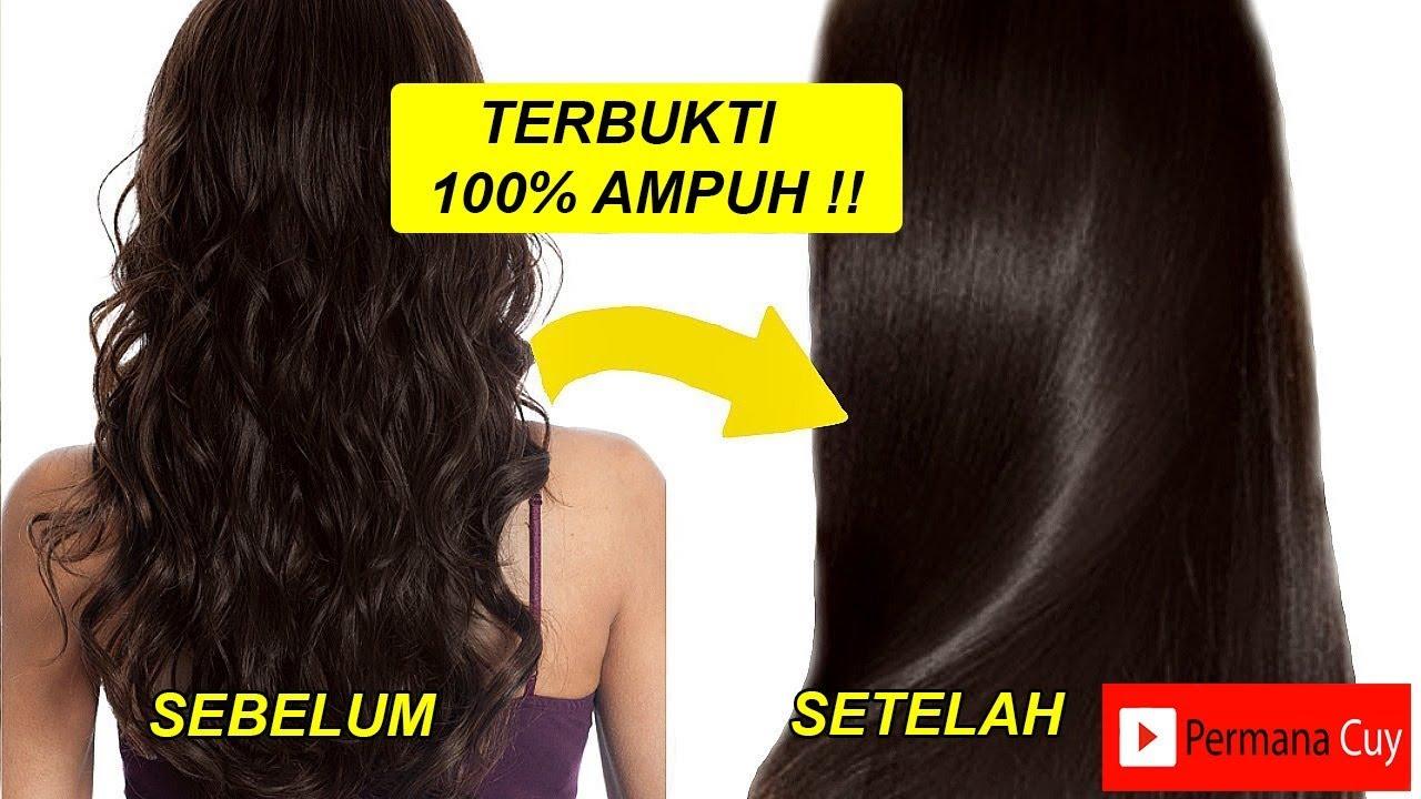Cara Cepat Meluruskan Rambut Keriting  3d009e0e5e