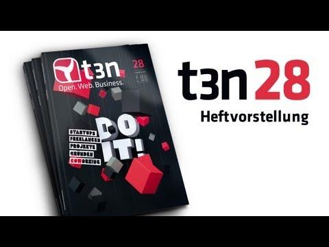 t3n Magazin 28 - Heftvorstellung