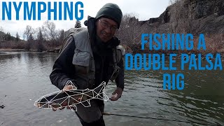 "Nymphing: Fishing Double Palsa Indicators ft Alex ""Xenie"" Hall"
