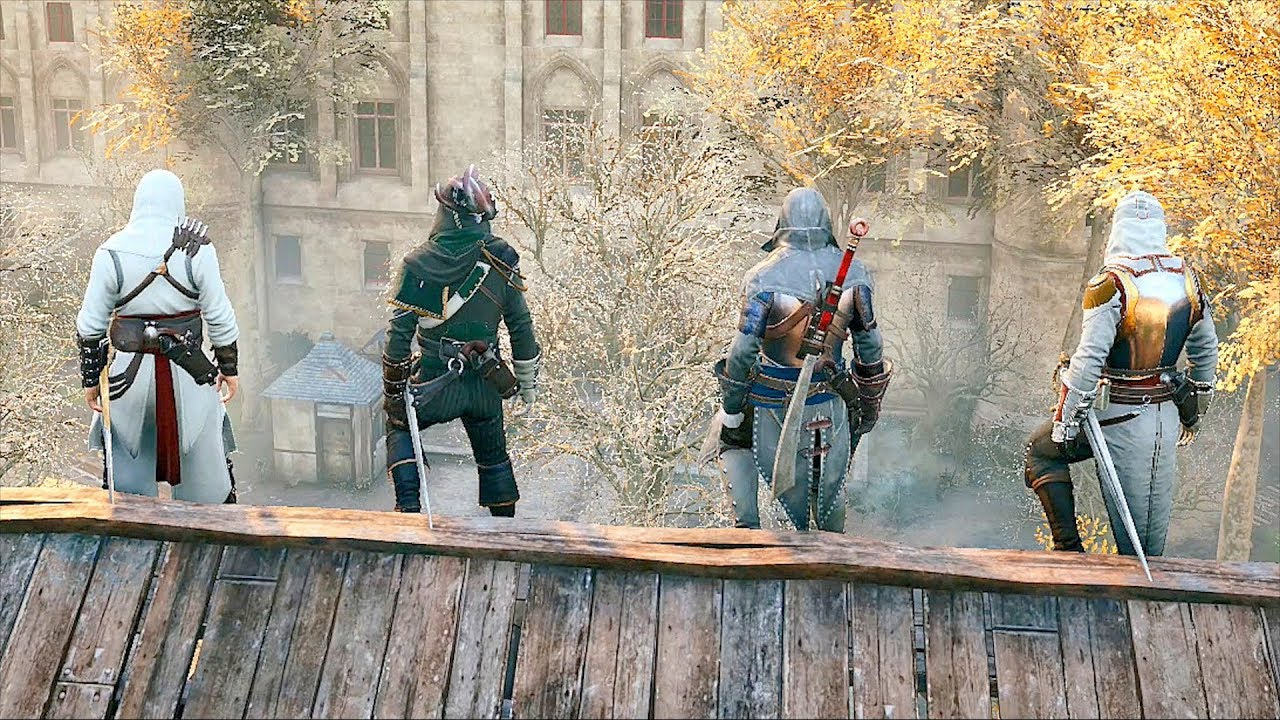 Banner-ul lui Assassin's Creed Unity sugerează modul de joc co-op