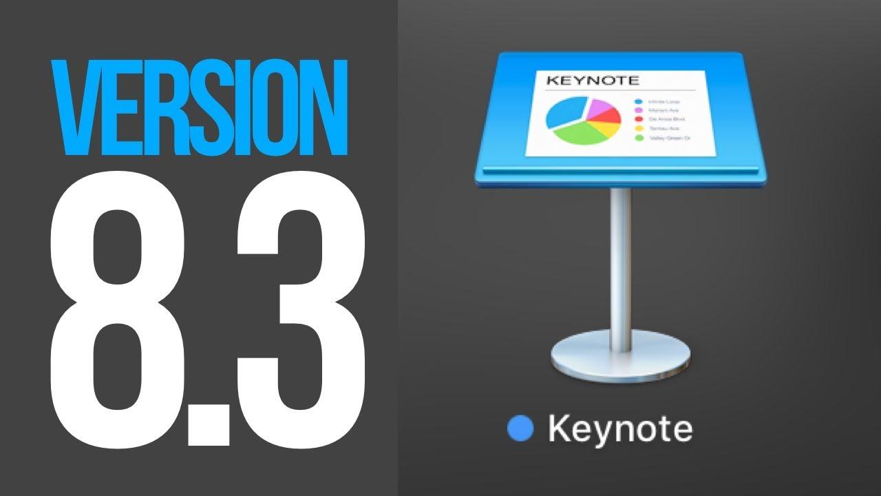 How to Update to Keynote 8 3 - Macbook, iMac, Mac mini, Mac Pro